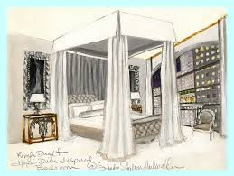 ooh la frou frou a glamorous bedroom for apartment 1204