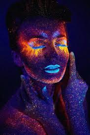 Black Light Halloween Party by Best 10 Black Light Makeup Ideas On Pinterest Neon Face Paint