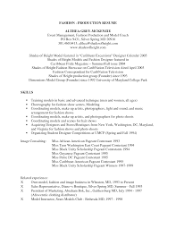 Sample Model Resume by Fashion Model Resume Resume For Your Job Application