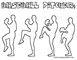 bodacious baseball coloring pages baseball free printables