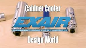 compressed air cabinet coolers cabinet cooler systems keep the heat out of electronic panels youtube
