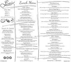 Filet Mignon Menu Dinner Menu List U2014 Lampy U0027s Restaurant