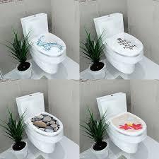 Bathroom Decor Ideas Diy 3d Pattern Fashion Design Diy Toilet Seats Stickers Bathroom