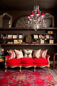Red Oriental Rug Living Room 7 Gorgeous Holiday Interiors Transformed By Red Rugs
