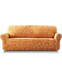 one piece stretch sofa slipcover deal alert tikami 1 piece spandex printed fit stretch sofa