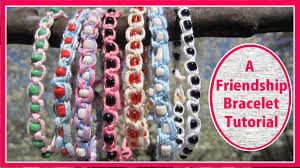 make friendship bracelet beads images How to make a friendship bracelet an easy kids craft jpg