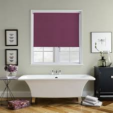 Aubergine Roman Blinds Purple Blinds Made To Measure From Direct Blinds