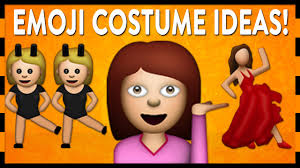 twins halloween costume idea diy emoji halloween costumes youtube