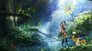 xenoblade chronicles anime fantasy wallpaper 2560x1440 152257