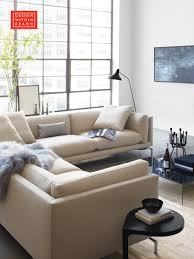 Como Corner Sectional Living Rooms Slipcover Sofa And - Design within reach sofa