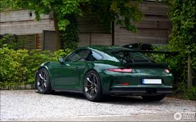irish green porsche porsche 991 gt3 rs 8 may 2017 autogespot
