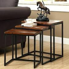 3 piece nesting tables wayfair nesting tables 3 piece nesting tables home interior