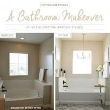 bathroom stencil ideas stenciled bathroom idea stencil stories