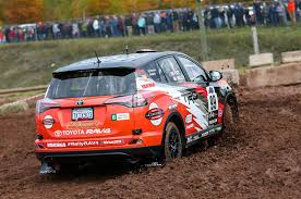 toyota rav4 racing near stock 2wd toyota rav4 finishes second in lake superior rally