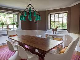 Long Dining Room Chandeliers Modern Bohemian Green Chandeliers For The Dining Room With Long
