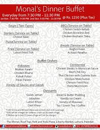 round table dinner buffet price 12 best restaurants for dinner buffet in lahore dekhlay com