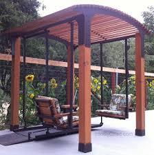 gazeboswings com custom gazebos with swings wheelchair platforms