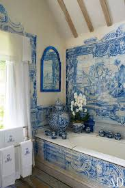 Blue Bathroom Tile by Best 25 Victorian Tile Murals Ideas On Pinterest Tile Murals