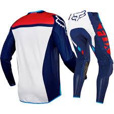 fox motocross kits new fox racing mx 2017 flexair seca navy blue jersey pants