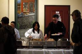 volunteers vie to help and out on thanksgiving san