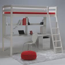 bureau pour lit mezzanine l gante de bureau pour lit mezzanine altitude tag re caisson sommier