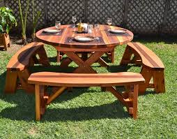 Picnic Bench Hire Best 25 Round Picnic Table Ideas On Pinterest Picnic Tables