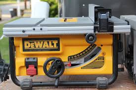dewalt table saw rip fence extension vs bosch compact table saw comparison