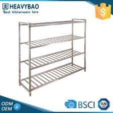 Metal Adjustable Shelving Stainless Steel Commercial Kitchen Shelf Stainless Steel