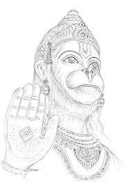 hanuman the complete personality hanuman sketch