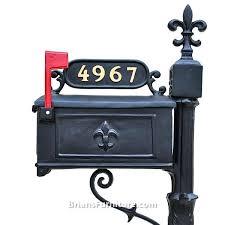 Pedestal Mailbox Cast Aluminum Mailbox U2013 Affordinsurrates Com