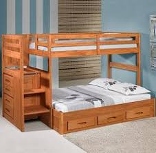 Free Plans For Twin Over Full Bunk Bed by Building Plans For Bunk Beds With Stairs Free Bunk Bed Plans