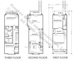 3 story townhouse floor plans 3 story townhouse with balcony floor plan