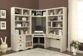 Corner Shelf Desk Nantucket Corner Desk 7 Piece Modular Corner Bookcase Home Office
