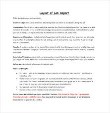 lab report conclusion template lab report template 26 free word pdf document free premium