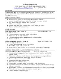 exle nursing resume rn resume version