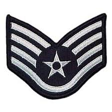 Flag Rank Air Force Ssgt Blue Chevron Small Rank Exchange Select