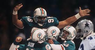 tbt that time miami dolphins and dallas cowboys played in the