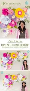 wedding backdrop tutorial best 25 paper flower backdrop ideas on flower