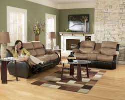 Ashley Furniture Living Room Set Leather Sectionals For Sale