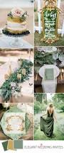 2017 Color Combos Top 5 Greenery Wedding Color Combos For 2017 Spring Trends