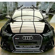audi rs6 headlights black headl of the audi avant rs6 c7 by tuning