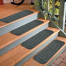 4 stair treads outdoor indoor carpet non slip staircase step