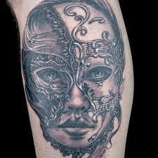 elimination tattoo venetian masks ink master