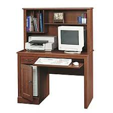 Cherry Wood Computer Desk With Hutch Mission Style Cherry Wood Computer Desk