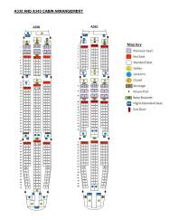 A380 Seat Map Business Flight Airasia Airbus A330 A340 Seat Map