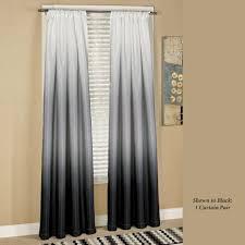 Black Bathroom Curtains Curtain Astonishing Black And Grey Curtains Curtain Stage