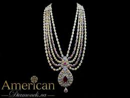 gold rani haar sets ruby and chagne gold plated rani haar set 10890