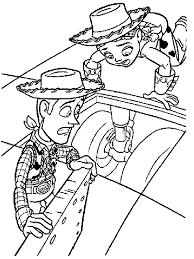 toy story 2 coloring pages funny coloring