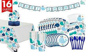 whale baby shower blue baby whale party supplies party city