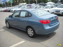hyundai elantra baby blue 2007 seattle light blue hyundai elantra gls sedan 51272224 photo